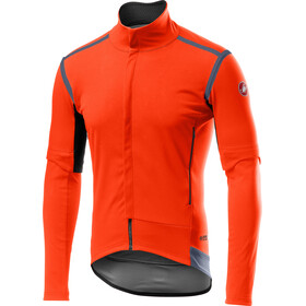 Castelli Perfetto Rain Or Shine Aanpasbare Jas Heren, orange